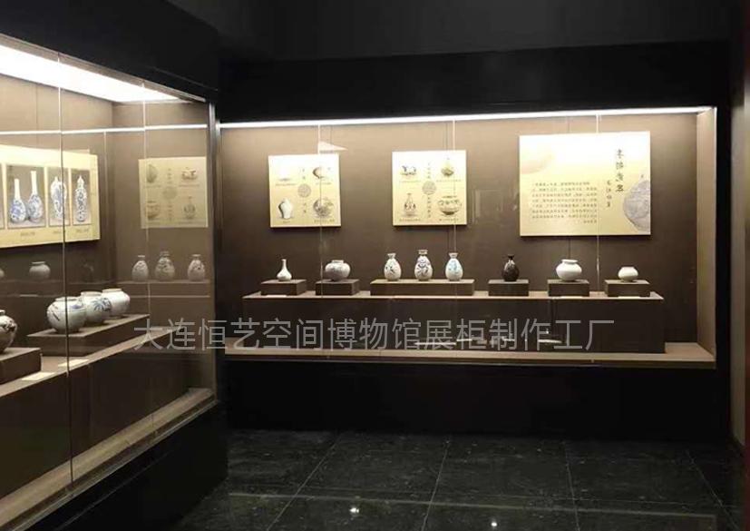 山东淄博某博物馆展柜
