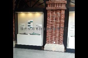 沿墙文物展柜
